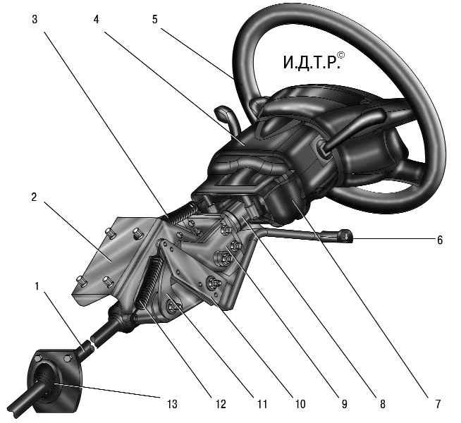 Рулевое управление уаз патриот схема